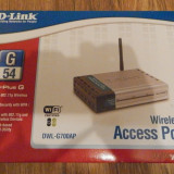 DLINK ACCESS POINT DWL G700AP
