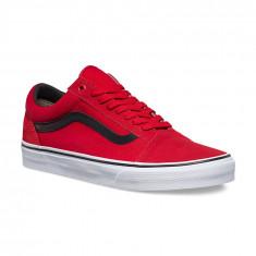 Shoes Vans Old Skool C&P Racing Red/Black, Marime: 39, 40, 41, 42, 43, 44