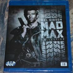 Film - Mad Max Trilogy [3 Filme - 3 Discuri Blu-Ray], Release Nordic Original - Film Colectie warner bros. pictures, Romana