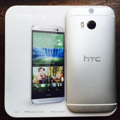 Vand HTC one M8 - Telefon mobil HTC One M8, Argintiu, 32GB, Neblocat