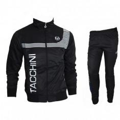 Trening Sergio Tacchini Fas - Bluza si pantaloni conici - Modele NOI -gen adidas - Trening barbati, Marime: M, L, XL, XXL, Culoare: Din imagine