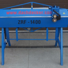 Abkant ZRF 1400/0, 8 mm DACHDCKER Matrix