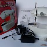 Mini masina de cusut electrica cu pedala