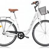 Bicicleta Oras, Robike, Elise N3, Cadru Otel, Jante 28 inch, Alb, 2016 Robike - Bicicleta de oras