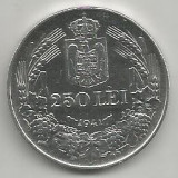 ROMANIA MIHAI I 250 LEI 1941, NSD ARGINT [3] XF++ livrare in cartonas - Moneda Romania