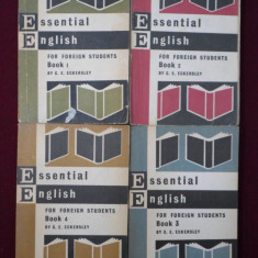 C.E. Eckersley - Essential English for Foreign Students - 660843 - Ghid de conversatie