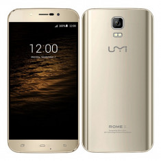 SmartPhone UMI ROME X GOLD, NOU la CUTIE, 5.5inch HD LTPS, QUAD-CORE, 1GB, 8GB, 13MPX, Auriu, Neblocat, Dual SIM