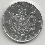 ROMANIA MIHAI I 200 LEI 1942 ARGINT [2] XF, livrare in cartonas - Moneda Romania