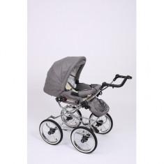 Carucior 2 in 1 Whicker Classic Color 10 Baby-Merc - Carucior copii 2 in 1 Baby-Merc, Alb