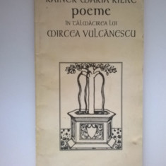 Rainer Maria Rilke - Poeme {Paideia} - Carte poezie