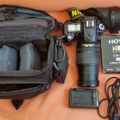 Kit DSLR Nikon D90 + Obiectiv AF-S DX NIKKOR 18-105mm - NEGOCIABIL - Aparat Foto Nikon D90