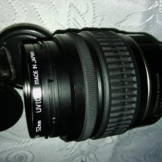 SMC PENTAX-DAL ZOOM 1:3, 5 - 5, 6 18-55 mm + Filtru UV - Obiectiv DSLR