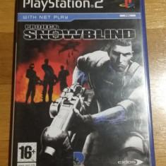 PS2 Project snowblind / joc original PAL by WADDER - Jocuri PS2 Eidos, Shooting, 16+, Single player
