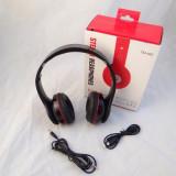 Casti Beats Profesionale, Bluetooth, Radio FM, Wireless, Card SD, USB - Casti Beats SOLO HD Monster Beats by Dr. Dre
