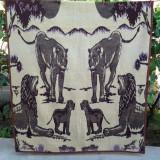 Leul, regele, patura lana 215 x 165 cm (2 fete)