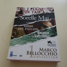 Marco Bellocchio - 4 DVD box - Film Colectie Altele, Italiana
