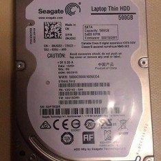 Hard Laptop Seagate 500GB/5.400 rotatii/16M Cache/100% LIFE - HDD laptop Seagate, 500-999 GB, SATA2, 16 MB