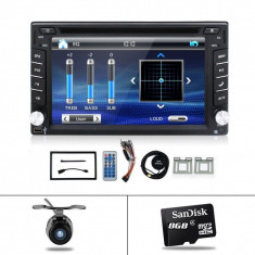 Radio Stereo 2DIN dvd blutooth GPS touchscreen Windows dual core - CD Player MP3 auto