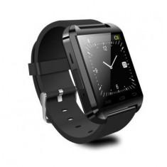 SMARTWATCH U-WATCH BLUETOOTH U8 NEGRU MODEL ORIGINAL - Pebble Smartwatch
