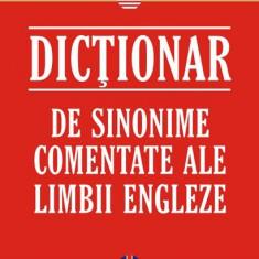 Dictionar de sinonime comentate ale limbii engleze - 536079 - Ghid de conversatie polirom