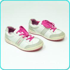 DE FIRMA _ Pantofi sport / adidasi, PIELE, comozi, aerisiti, ECCO _ fete | nr.34 - Pantofi copii Ecco, Culoare: Din imagine, Piele naturala