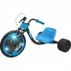 TRICICLETA ELEKTRA FLASHING HOG GO KART - Tricicleta copii, Bleu