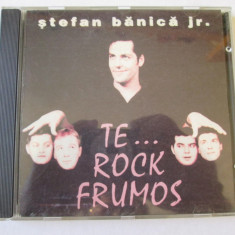 RAR! CD STEFAN BANICA JR. ALBUMUL TE...ROCK FRUMOS, ROTON 1996 - Muzica Rock