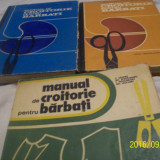 Manual de croitorie pt barbati [vol I +II + III--1973 ] si 1977 - Carte design vestimentar
