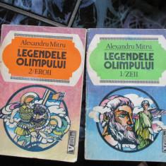 LEGENDELE OLIMPULUI AL. MITRU 2 VOL. - Carte poezie copii