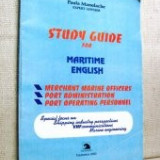 Study guide for maritime english
