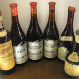 6 sticle vin lotto ( H ) recoltare 1969/1970/1970/1971/1974/1978 - Vinde Colectie, Aroma: Sec, Sortiment: Rosu, Zona: Europa