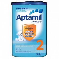 Lapte Aptamil 2 6-9luni 800gr - Lapte praf bebelusi Milupa