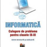 Carmen popescu informatica culegere probleme clasele ix-xi - Carte Limbaje de programare