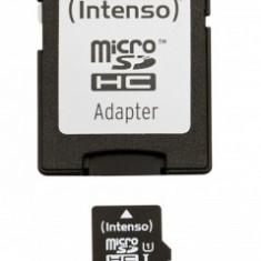 Card memorie microSDHC Intenso 32GB Clasa 10 Negru