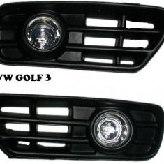 Proiector cu grila personaliat Golf 3, 4, Bora, Passat B5, Audi A4, Astra G. - Proiectoare tuning