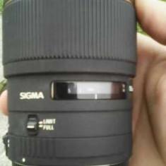 Obiectiv foto montura Canon Sigma 105 mm F 2.8 macro - Obiectiv DSLR