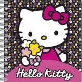 AGENDA CU SPIRALA FLOWER HELLO KITTY