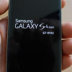 Samsung Galaxy S4 mini duos i9192 - Telefon mobil Samsung Galaxy S4 Mini, Negru, Neblocat, Dual SIM