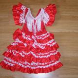 Costum carnaval serbare rochie dans flamengo copii 1 an - Costum Halloween, Marime: Masura unica, Culoare: Din imagine