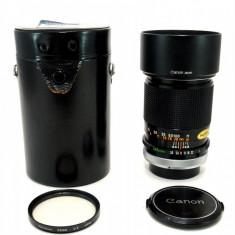 Vand obiectiv CANON FD 135mm 3.5 S.C. - Obiectiv DSLR Canon, Manual focus