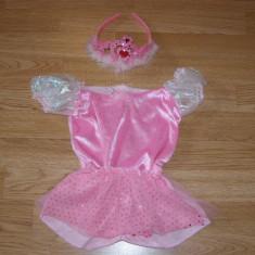Costum carnaval serbare printesa pentru copii de 3-4 ani - Costum Halloween, Marime: Masura unica, Culoare: Din imagine